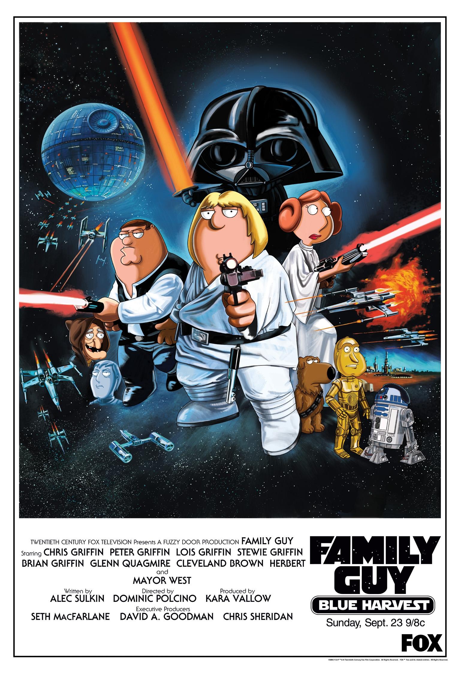 Star Wars Blue Harvest Family Guy